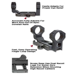 Accucam Quick Detach Base With Integral 30mm Scope Rings (GG&G)