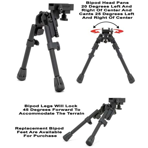 XDS-2 Tactical Bipod (Mil-Spec)