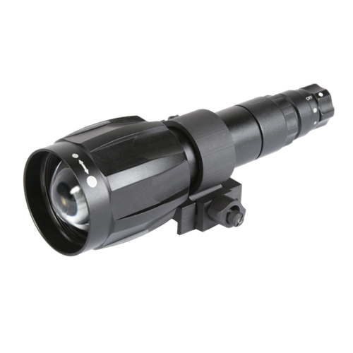 IR850W Detachable Wide Range Angle Adjustable Long Range Infrared Illuminator - Recommended for Gen2/2+ and Gen 3 Night Vision Devices