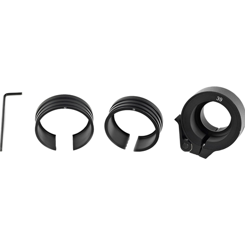 Bering Optics Clip-on adaptor with 3 fitting rings for Night Probe Mini to fit with 32-56mm objective lenses