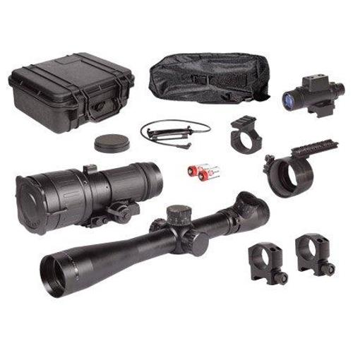 PS40-3P Day-Night Tactical Kit with Leupold Mark 4 3.5-10x40mm