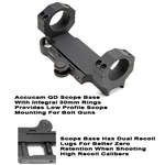 Accucam 1199 Quick Detach Base For Bolt Style | NightVision4Less